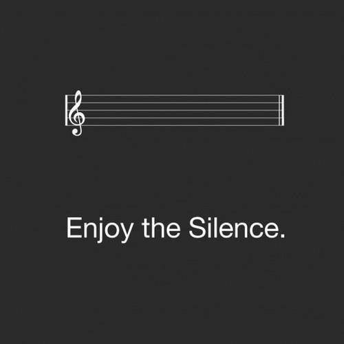 Quotes About Silence Tumblr Enjoy The Silence Pict...