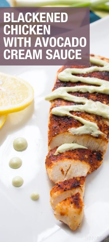 Blackened Chicken Avocado Sauce Pictures, Photos, and Images for ...