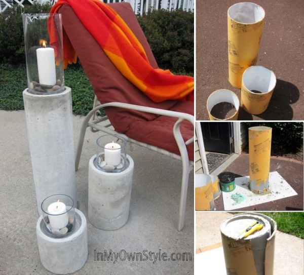 Diy Candle Pillars Pictures Photos And Images For