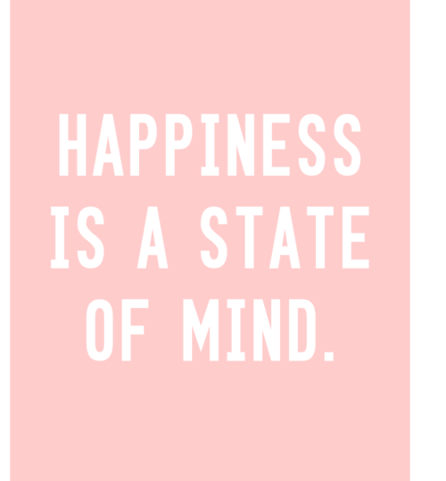 Quotes Happiness Tumblr: Happiness Is A State Of Mind Pictures, Photos, And Images
