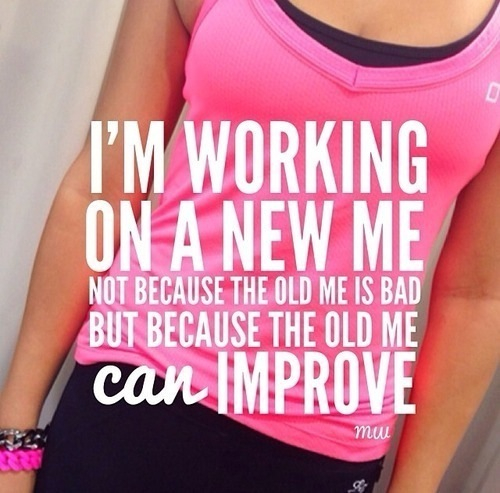 Fitness Motivation Women Abs Im Working On A New Me...