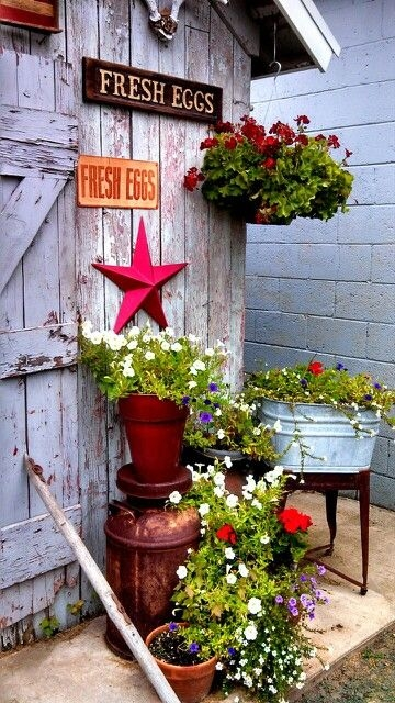 Small Primitive Garden Pictures, Photos, and Images for