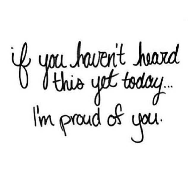 Proud Of You Quotes Glamorous Im Proud Of You Pictures Photos And Images For Facebook Tumblr