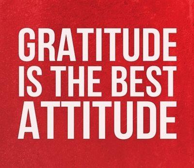 Essay on gratitude is the best attitude