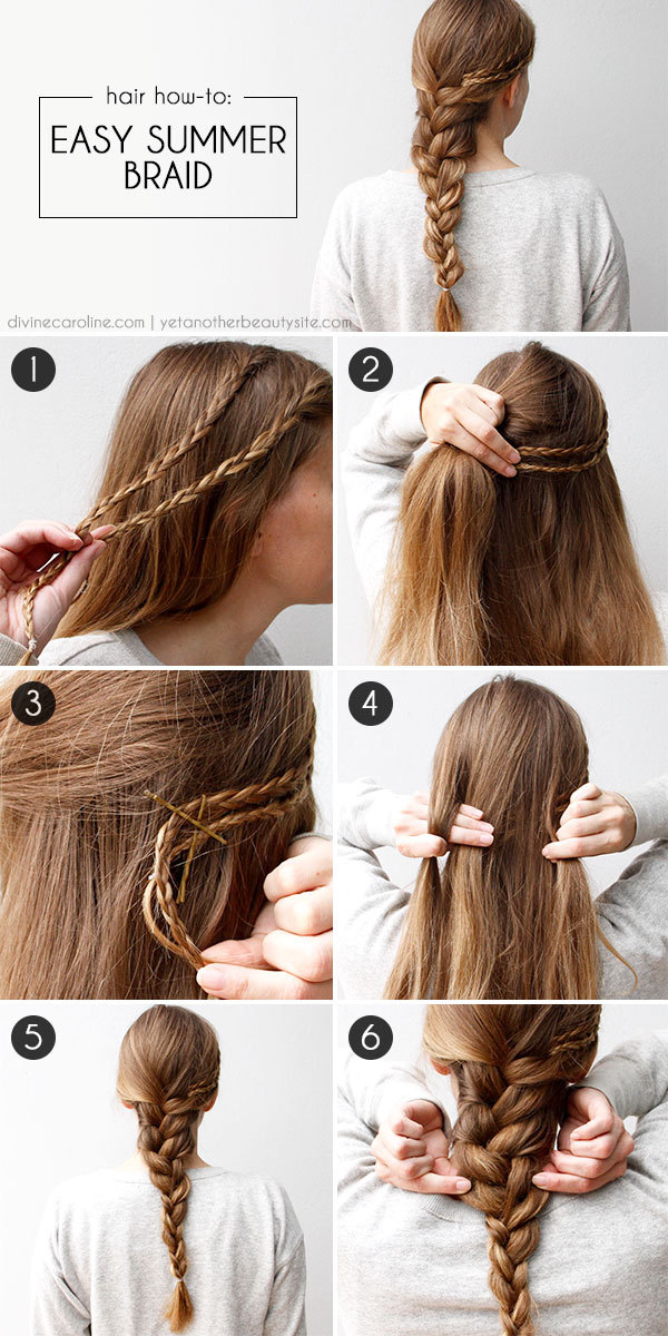 DIY Easy Summer Braid Pictures Photos And Images For Facebook - Braid diy pinterest