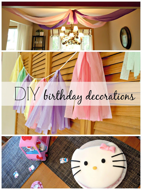 DIY Birthday Decorations Pictures Photos and Images for Facebook