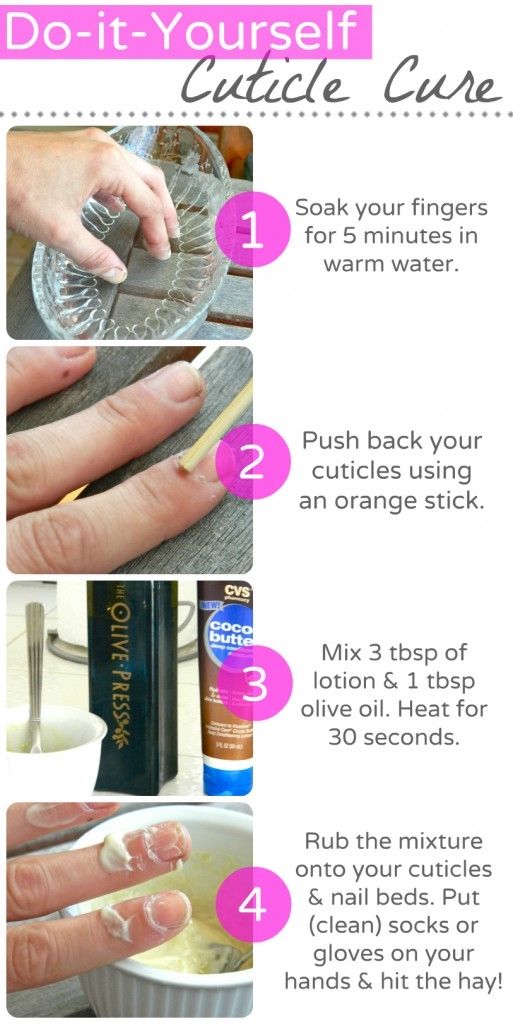 Diy cuticle cure pictures photos and images for facebook for How long does it take to build your own house