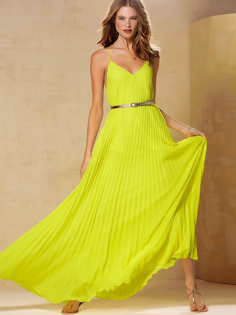 Pleated Chiffon Summer Dress Pictures, Photos, and Images for ...