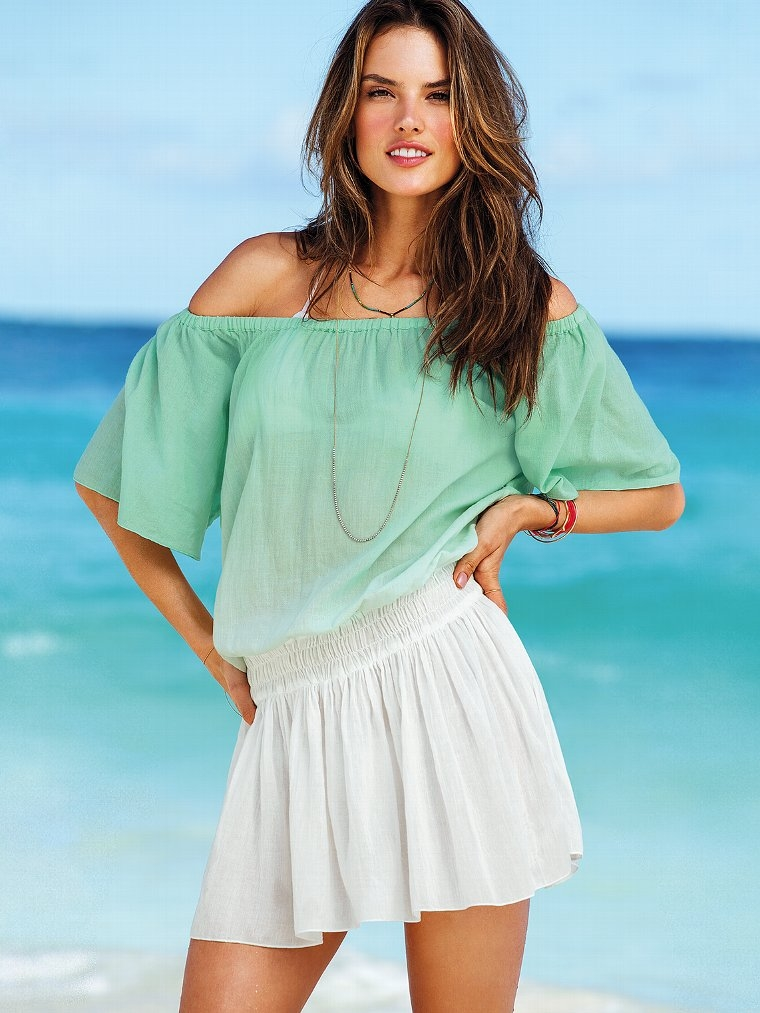 262326038edfd Cute Off Shoulder Summer Dress Pictures, Photos, and Images for ...
