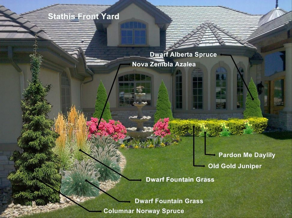 Amazing front yard landcsaping pictures photos and for Amazing front yard landscaping