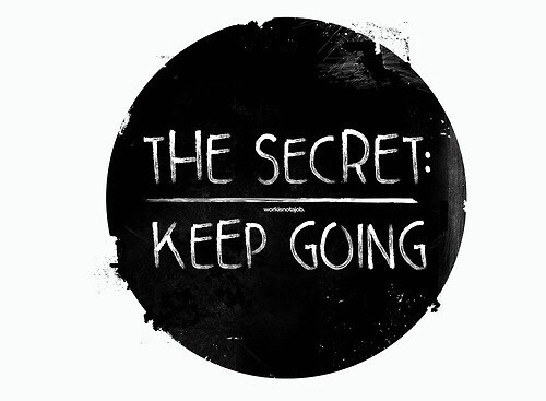 055296b409e79 The Secret  Keep Going Pictures
