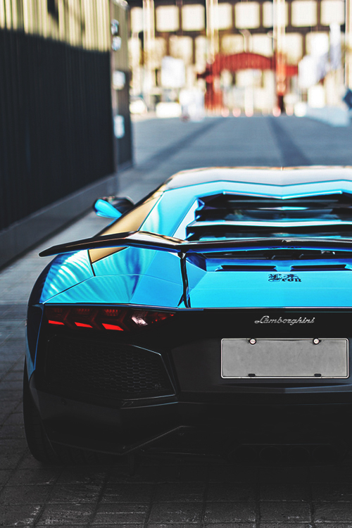 Blue Chrome Lp760 4 Aventador Lamborghini Pictures Photos