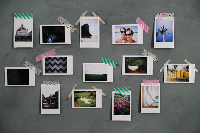 Diy photo wall display pictures photos and images for for Picture wall display