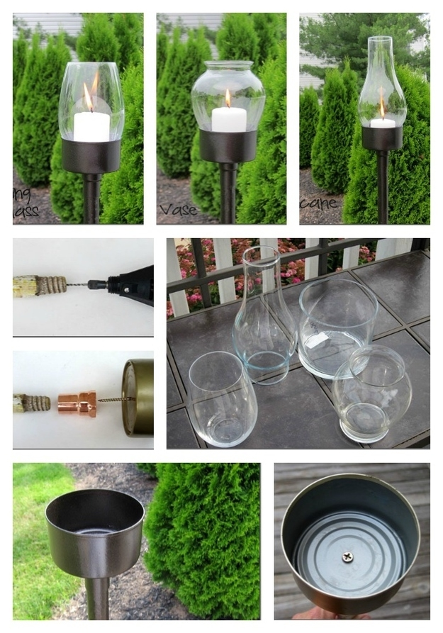 Diy Glass Candle Lanterns Pictures Photos And Images For Facebook