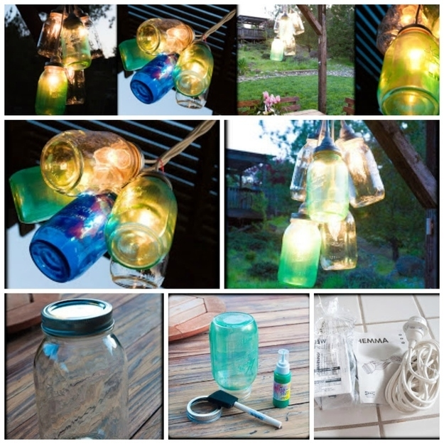 These Outdoor Lighting Ideas Will Brighten Up Your Summer: Diy Canning Jar Lights Pictures, Photos, And Images For
