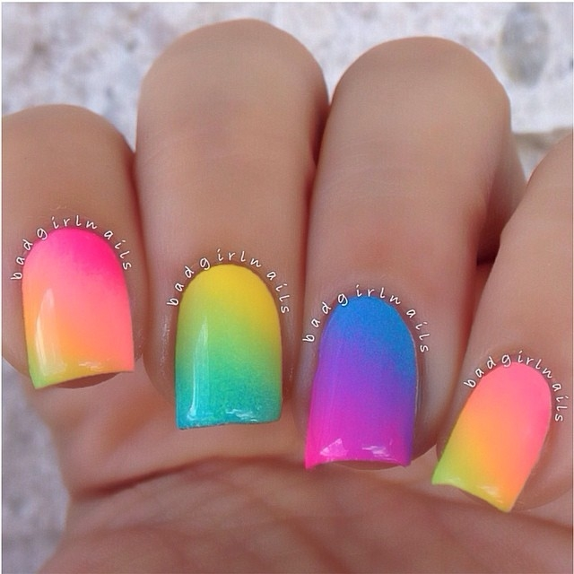 Colorful Summer Nails Pictures, Photos, and Images for ...
