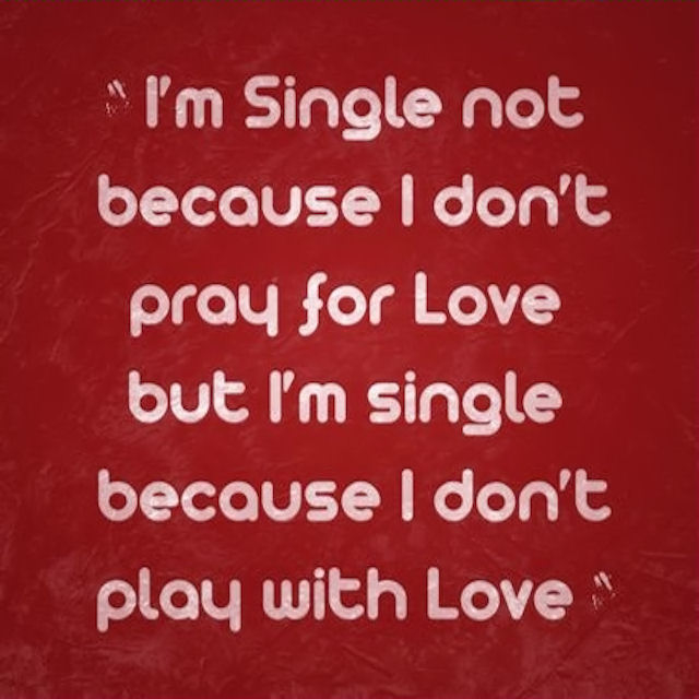 Im Single Quotes For Facebook. QuotesGram