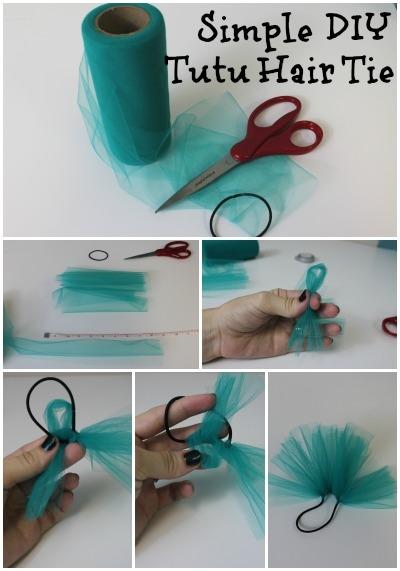 Simple DIY Tutu Hair Tie