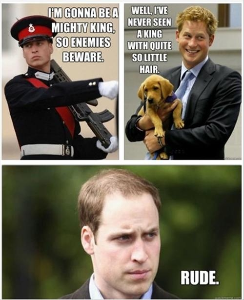 Funny Meme Rude : Royal family inside jokes pictures photos and images for
