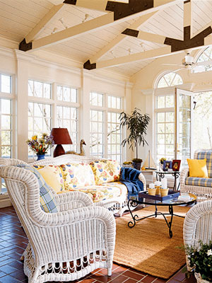 Beautiful Sunroom White Wicker Pictures And Images For Facebook Tumblr Pinterest