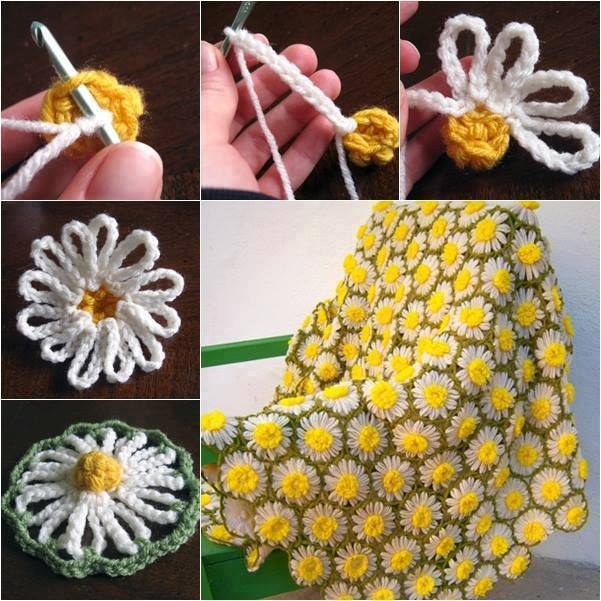Diy Vintage Daisy Crochet Pattern Pictures Photos And Images For