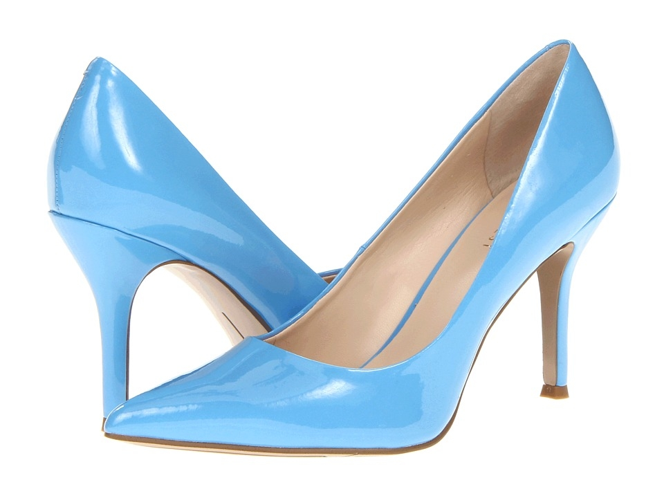 Light Blue High Heels - Qu Heel