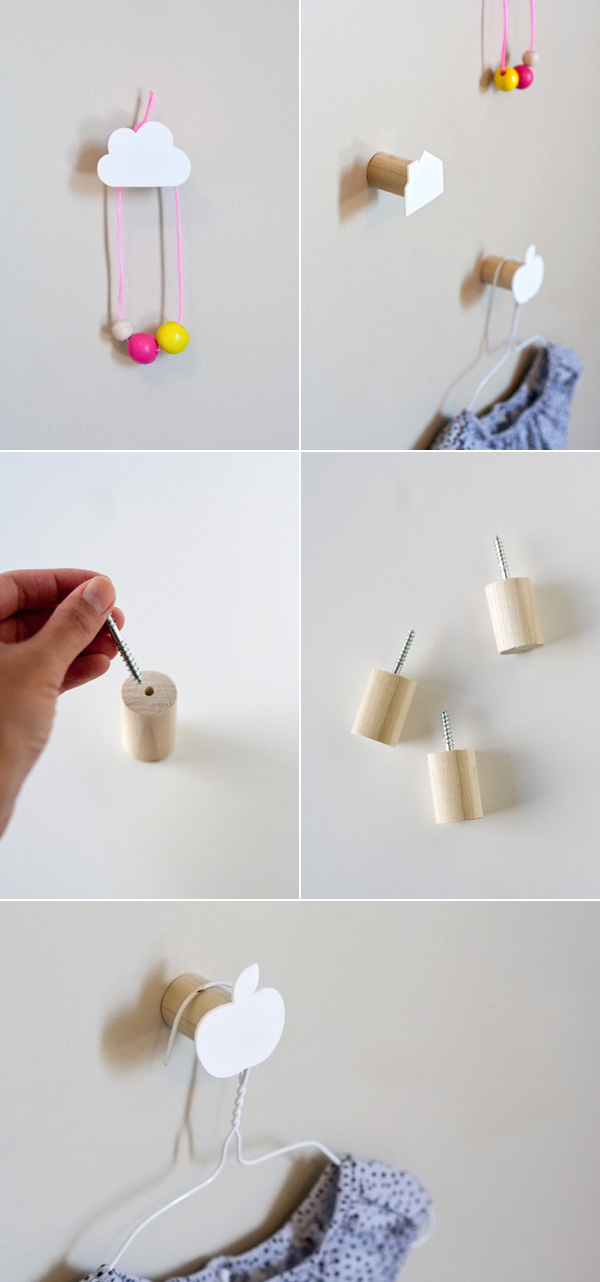 Diy decorative wall hooks pictures photos and images for - Diy deco chambre enfant ...