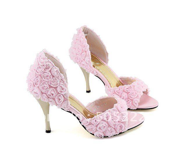 Rose Pink High Heels