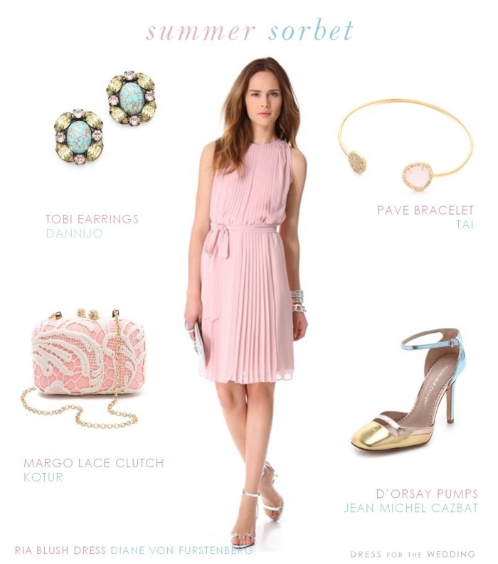 Dress To Wear Wedding Summer Sorbet