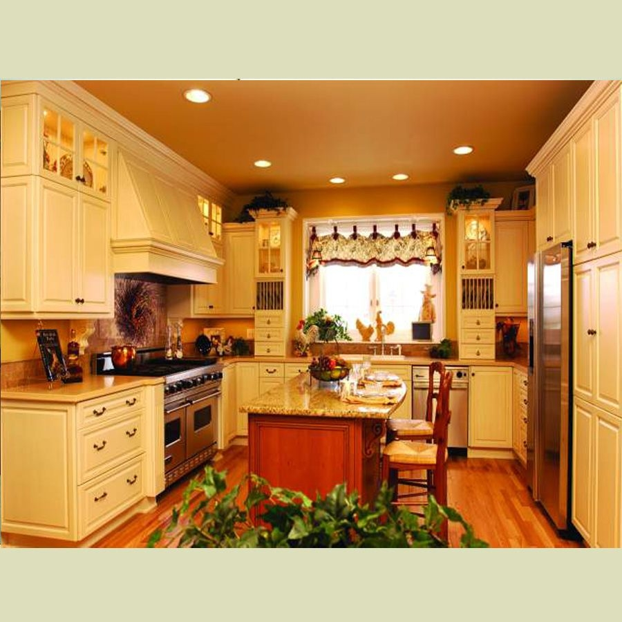 Kitchen Colors Color Schemes And Designs: Beautiful Country Kitchen Pictures, Photos, And Images For