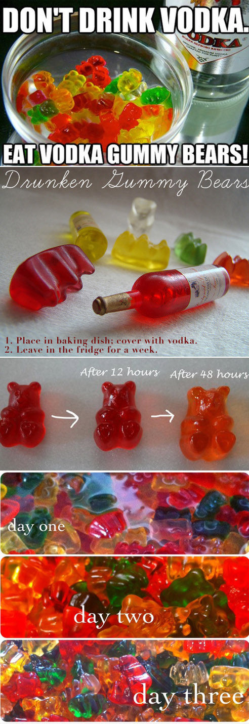 DIY Vodka Gummy Bears Pictures, Photos, and Images for ...