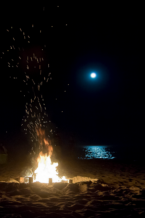 Blue Moon Bonfire Pictures Photos And Images For