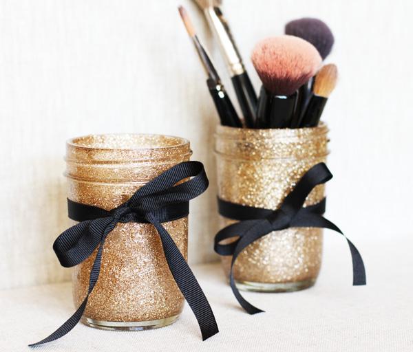 mason jar makeup brush holder. mason jar makeup brush holders holder y