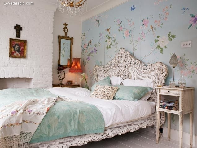 Vintage shabby chic bedroom. Vintage Shabby Chic Bedroom Pictures  Photos  and Images for