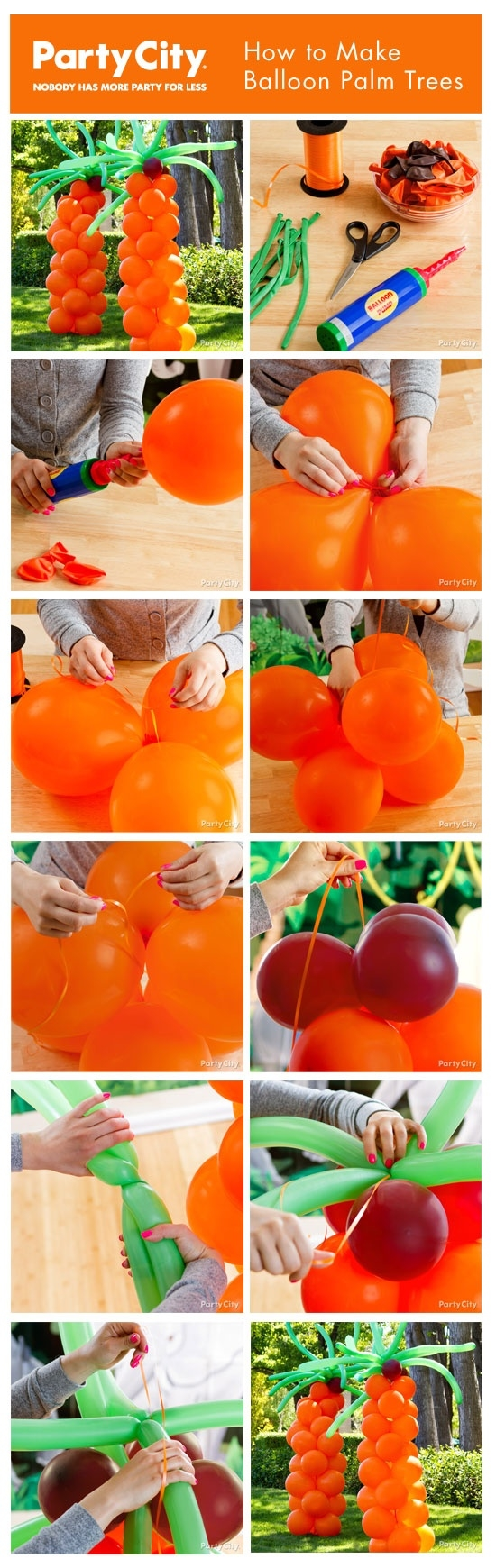 how to make giant fruits
