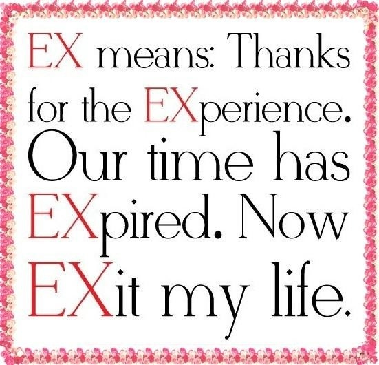 EX Means... Pictures, Photos, And Images For Facebook