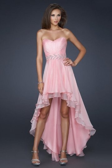 Short Front Long Back Prom Dress Pictures Photos and Images for ...