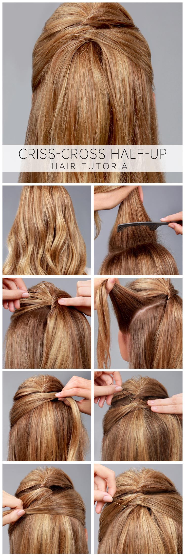 DIY Half Up Hair Tutorial Pictures, Photos, And Images For