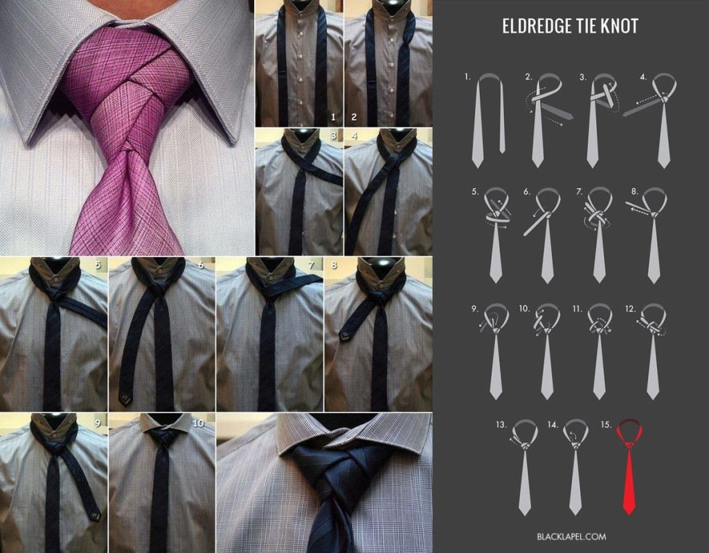 Diy eldredge tie knot pictures photos and images for for Nudos de corbata modernos