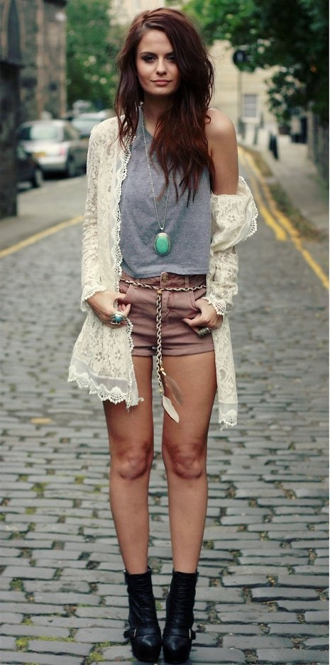 Trending Lace Tank Fashion