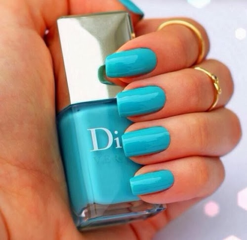 Dior Turquoise Blue Nail Polish Pictures Photos And Images For Facebook Tumblr Pinterest