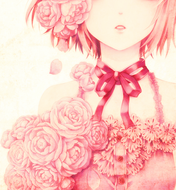 Pink anime girl pictures photos and images for facebook tumblr pink anime girl voltagebd Gallery