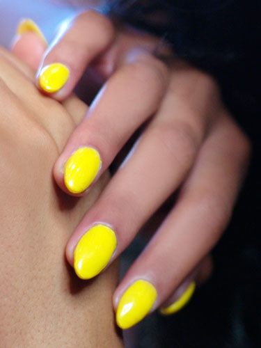 Cheery Yellow Nail Polish Pictures Photos And Images For