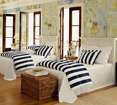Nautical Themed Bedroom Pictures, Photos, and Images for ...
