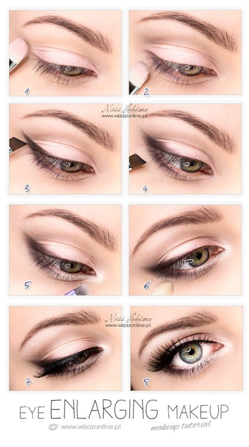 Eye Enlarging Makeup Tutorial Pictures, Photos, and Images ...