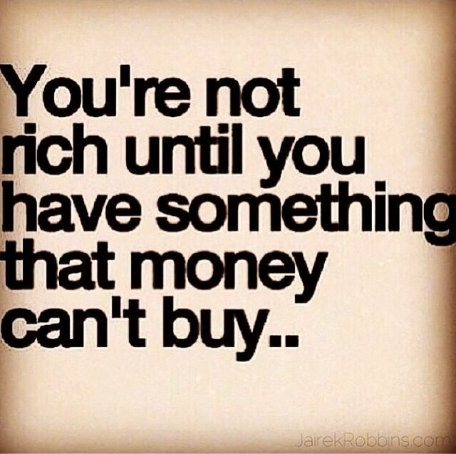 you are not rich quotes