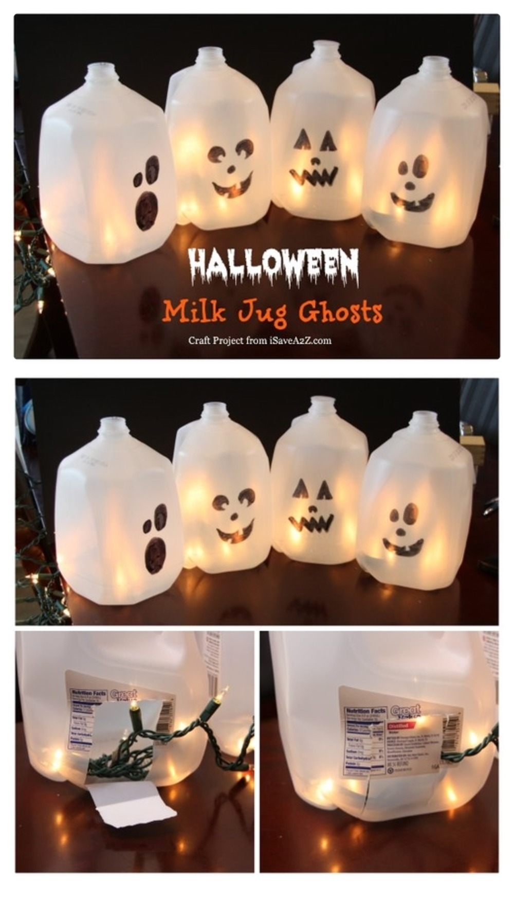 Halloween Milk Jug Craft Pictures Photos And Images For