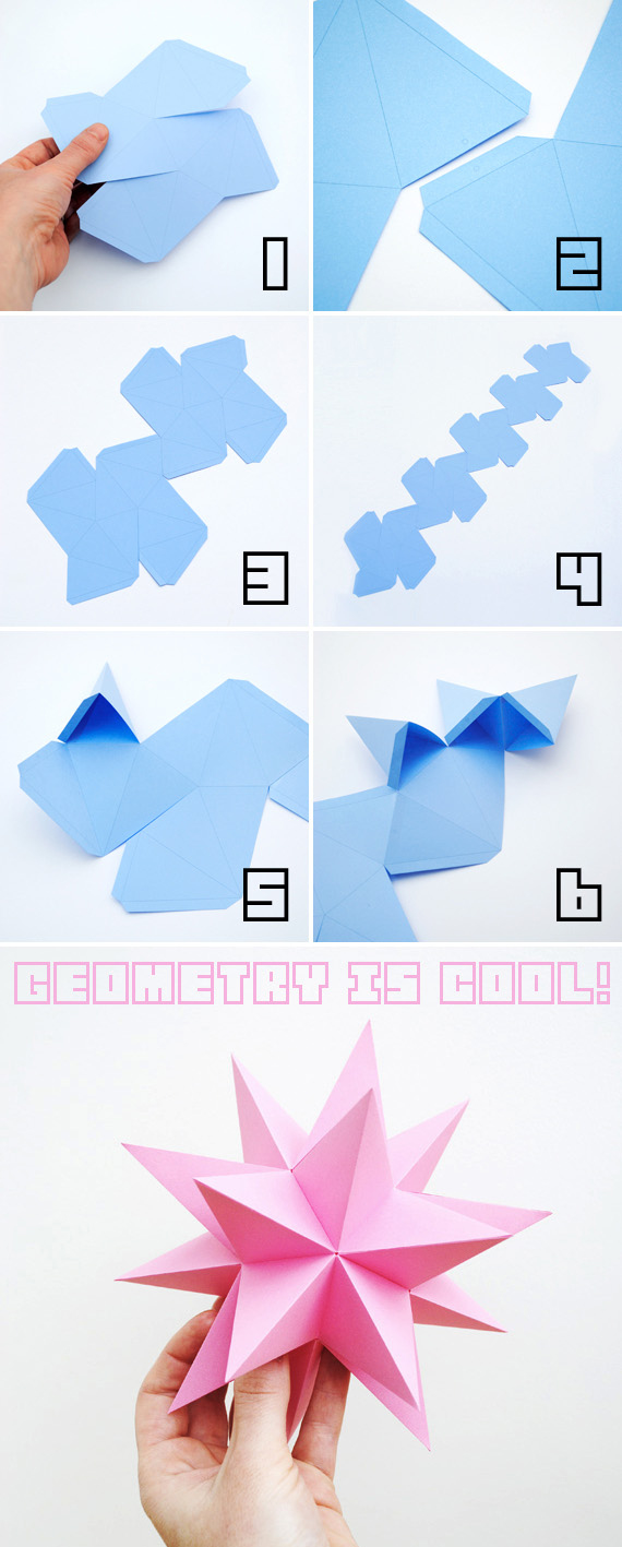 Origami Stellated Dodecahedrons Pictures, Photos, and ...