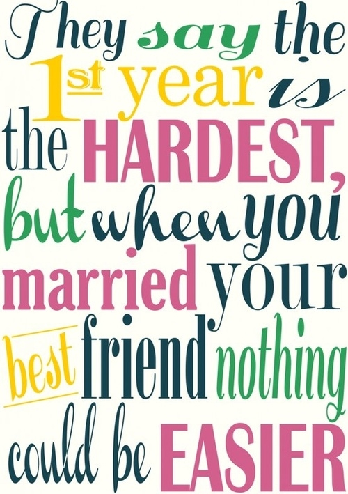 Quotes About Love And Marriage Anniversary : 1st Year Wedding Anniversary Quotes Quote Addicts