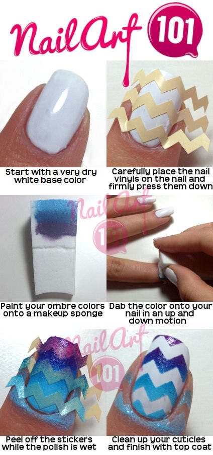 Diy Chevron Nails Pictures Photos And Images For Facebook Tumblr